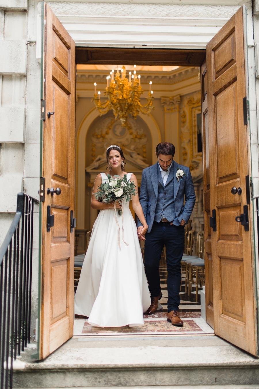 Intimate summer wedding at Orleans House, Twickenham, London   Rebecca Searle